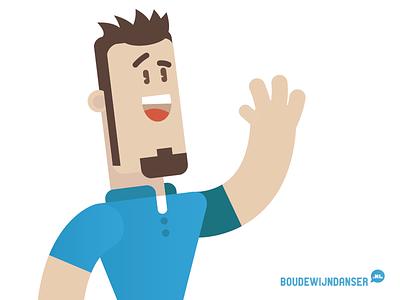 Vector selfie selfie dordrecht illustrator illustratie vector