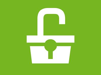 Open shop icon shop green icon