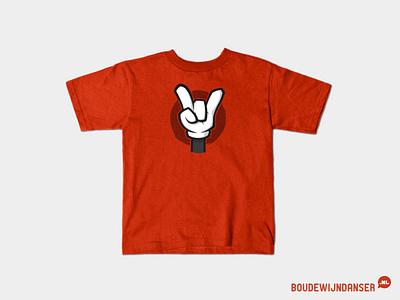 Mickey Metal T-shirt illustratie ontwerp mickey shirt metal