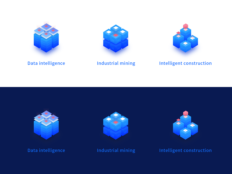 Sihenggroup smart design 2.5d website icon ui