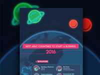 Colorful World Infographic