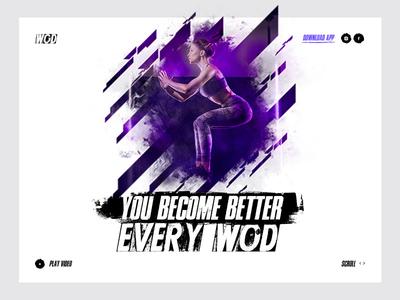 WODuNeed wod ui grange app site crossfit sport