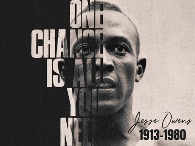 Jesse Owens owens jesse athlete poster