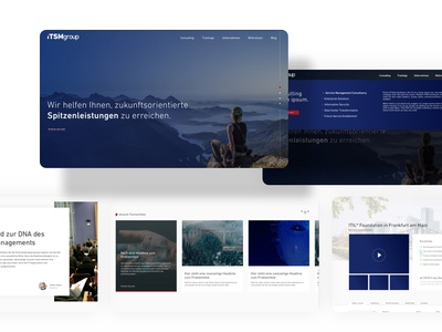Website Relaunch gradient website slider uxdesign ux sketchapp