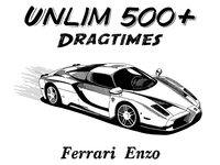 Ferrari Enzo illustration for Unlim500+ show