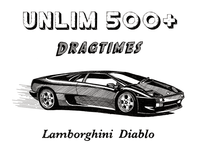 Lamborghini Diablo illustration