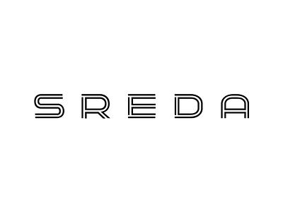 SREDA, furniture store logo online identity branding logotype store logo furniture