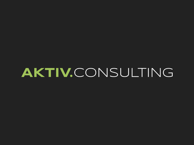 AKTIV.CONSULTING logo information security active consulting it identity branding logo