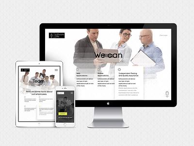 Software2life, website design responsive white black life development ui ux interface software webdesign