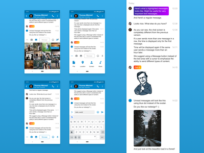 Telegram chat screen redesign contest interface chat user interface application android app ui messenger telegram