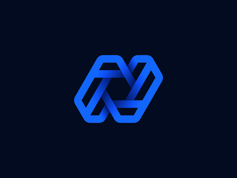 Letter N Logo Unused Proposal app icon blockchain 3d logo pgarh diagram wire whirlpool spiral galaxy crossroad junction circuit portal gradient letter n identity branding logo for sale unused