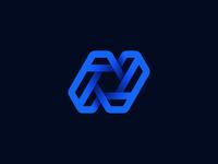 Letter N Logo Unused Proposal