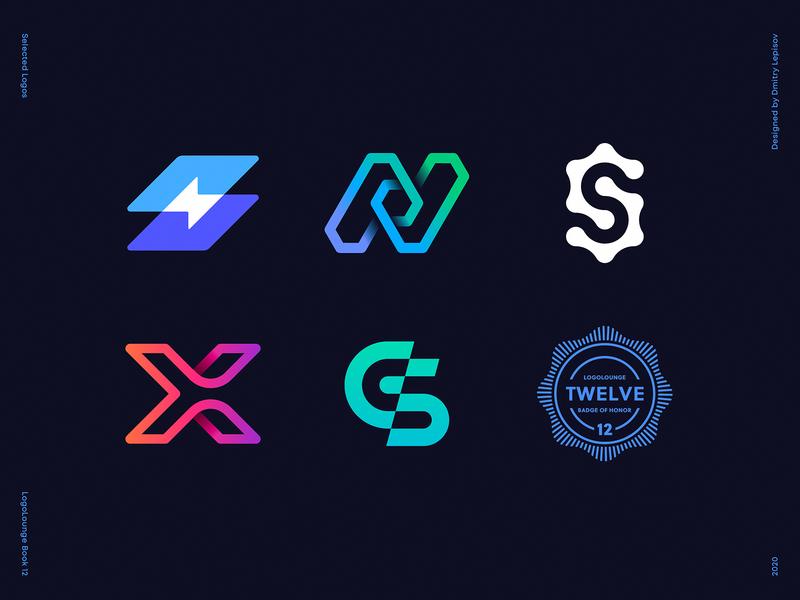 My Logos Selected for LogoLounge Book 12 tech gear code path bolt n s x letter logo collection best logos logolounge logo