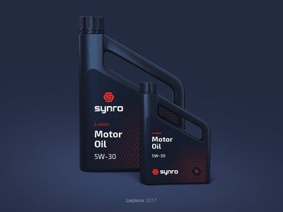 Synro Canister Label Design