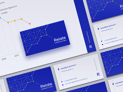 Branding Identity for Relate Consulting presentation business card connection communication icon brandbook pattern marketing typographic logo typography logo branding identity