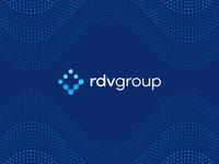 RDV Group final logo and pattern