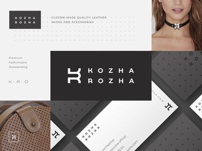 Kozha Rozha branding identity