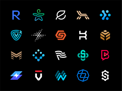 Best Logo Marks blockchain furniture it consulting chat bubble bearing gear waves lock flag building tree motor bolt shield armchair leaf connection best logos logo collection