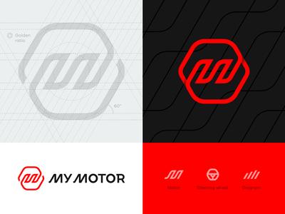 My Motor logo grid