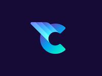C Letter Logo. Unused Concept