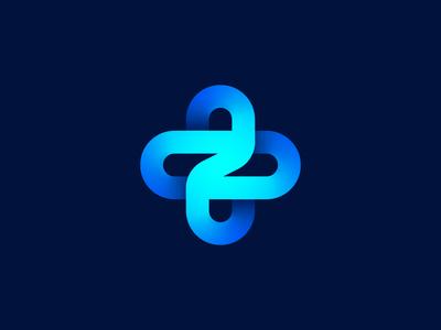 Z + Cross unused logo concept