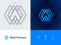 Alkali Partners approved logo grid