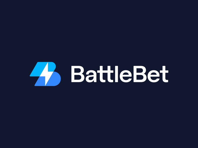 BattleBet approved logo logo branding identity spark lightning overlap bolt letter b battle gaming betting cybersport esports sports play custom typography transparent mark lettering sign