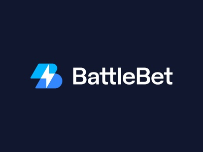 BattleBet approved logo logo branding identity spark lightning overlap bolt letter b battle gaming betting cybersport esports sports play custom typography transparent mark lettering sign