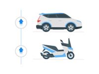 Upgrade Vehicle Illustration