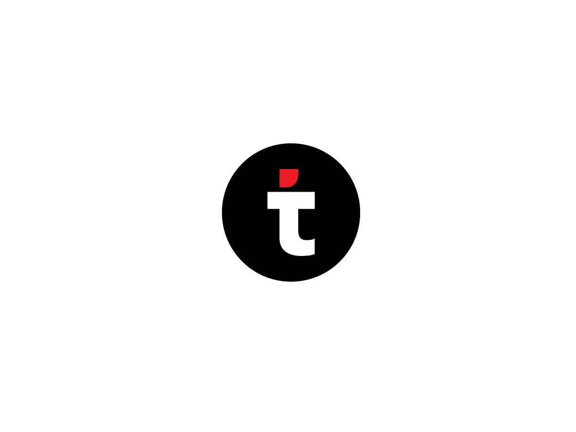 """T"" No. 2 design ui abuja logo nigeria t black red minimalist"