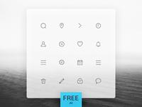Carbon Icons Set FREE .AI