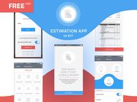 FREE UI Kit Estimation App