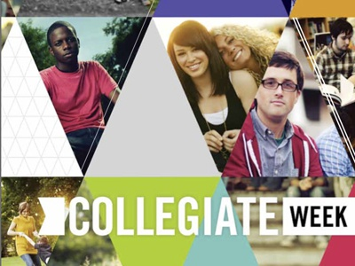 Collegiate Week Listening Guide Cover listening guide print college triangles