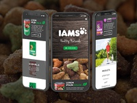 IAMS Healthy Naturals Mobile Site Exploration