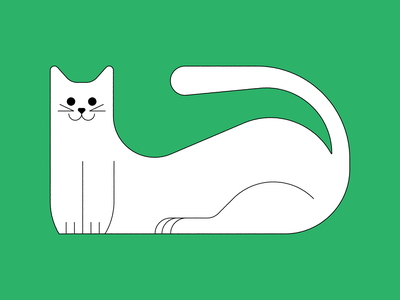 gatto vector burelli alessandro design graphic illustration