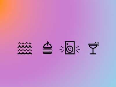 Party illustration design icon