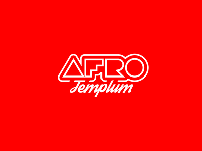 AFRO Templum graphic design logo