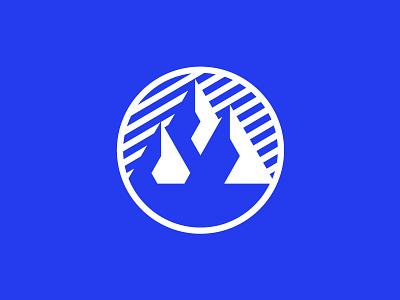 brrrrr blue graphicdesign mark logomark