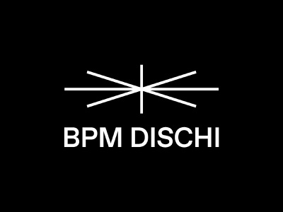 BPM DISCHI branding design graphic logo