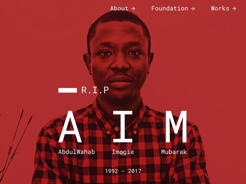 Tribute Website bootstrap web design tribute website death