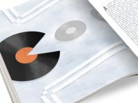 Pac Man Record Illustration