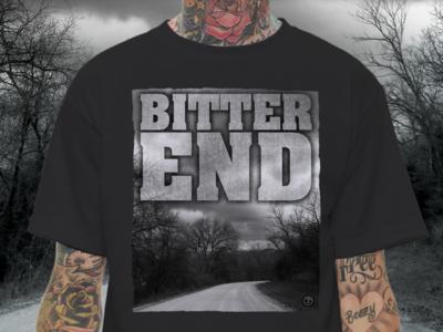 Bitter End 1 color deathwish merch hardcore shirt t-shirt txhc nyhc bitter end deathwishinc screen print straight edge t shirt