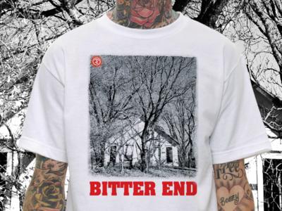 Bitter End 2 color nyhc deathwish merch hardcore shirt t-shirt txhc bitter end deathwishinc screen print straight edge t shirt