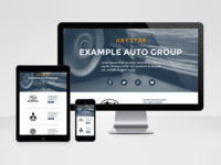Auto Group Splash Page
