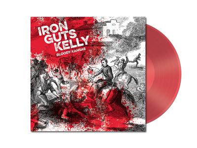 Iron Guts Kelly– Bloody Kansas LP phoenix kansas lfk punk hardcore lp vinyl