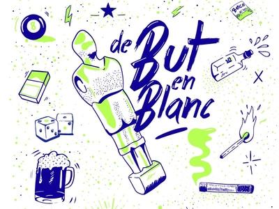 / Silkscreen Fanzine De but en Blanc /