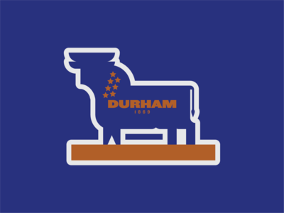 Weekly Warm-Up 01: Durham, NC - Bull City Sticker