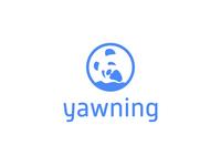 Yawning Panda