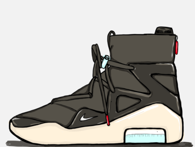 """Unreleased"" Air Fear of God 1"