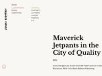 Joanna Neborksy - navigation & type detail